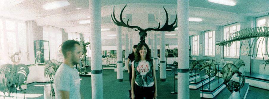 MARTYNA WITH ANTLERS