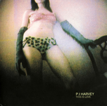 PJ Harvey This Is Love Record Sleeve