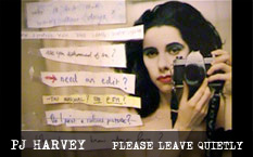 PJ Harvey Please Leave Quietly DVD Tour Clip